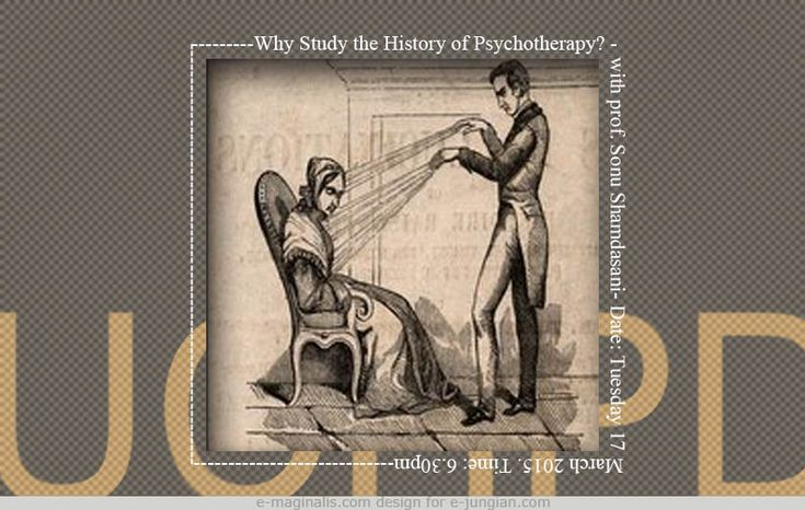 Why Study the History of Psychotherapy? - an Inaugural Lecture by Sonu Shamdasani.