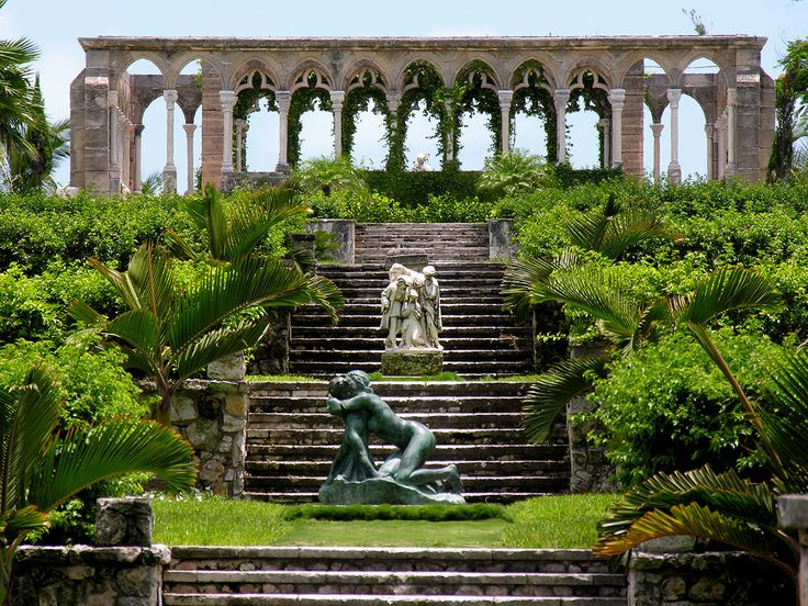 a section of the gardens at the palace of versailles in france
