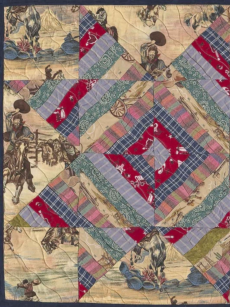 117 Best Western And Cowboy Quilts Images On Pinterest