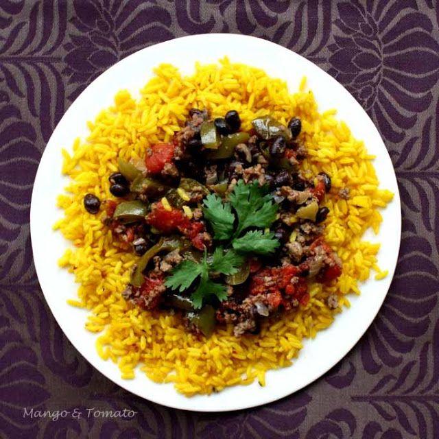 Mango & Tomato: Goya & Foodbuzz Sponsored Dinner: Lazy Stuffed Peppers