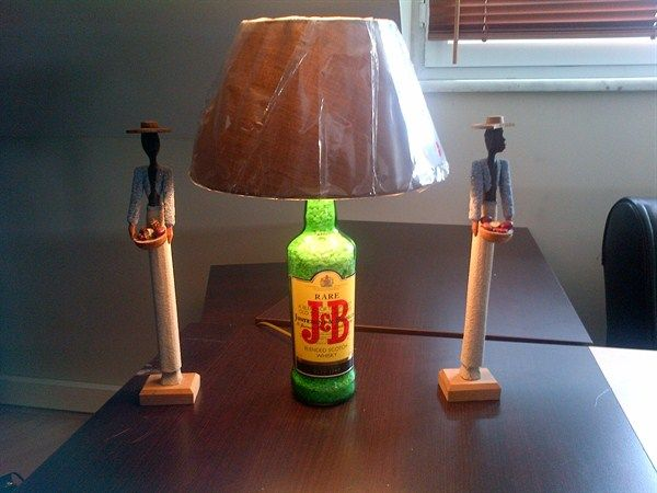 JB Bottle Lamp - info@biradetvar.com