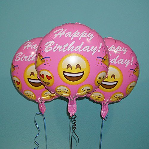 These double-sided Emoji Happy Birthday Foil Balloons are perfect for your next birthday party or event! Balloon bundle comes with three pink birthday balloons. Show up in style and with a smile! Need faster? Choose 2-day shipping at checkout! 18″ Emoji Pink Happy Birthday Balloons Double-sided Emoji Pink Happy Birthday Foil Balloons Create the perfect …