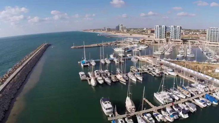 Herzlia Marina, Israel (quadcopter)
