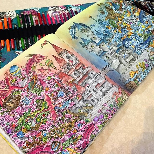 instagram photo feed if youre looking for the top coloring books - Best Colored Pencils For Coloring Books