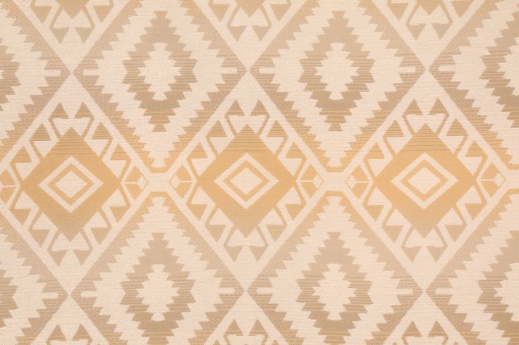 Southwestern Diamond Woven Olefin Outdoor Fabric. This woven fabric is perfect for outdoor usage. Olefin is a very strong fabric which maintains its strength in wet or dry conditions. The fibers have low...