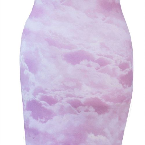 The pink cloud Britney dress. This dress is so delicious and ready for you. Mix it with a cool jacket. #womanswear #fashion