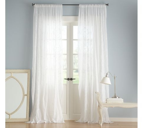 Cotton drapes from P  Barn. 17 Best images about curtains on Pinterest   White curtains
