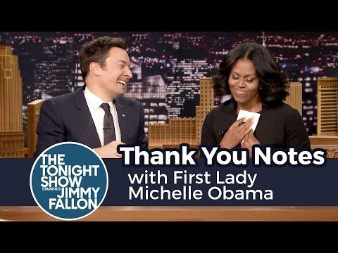 Michelle Obama Makes Final Talk Show Appearance as First Lady on Tonight Show