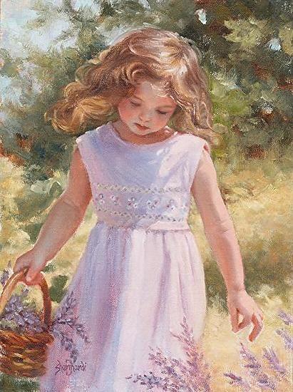 Breezy Thoughts ~ Sheri Dinardi ~ Oil on Linen