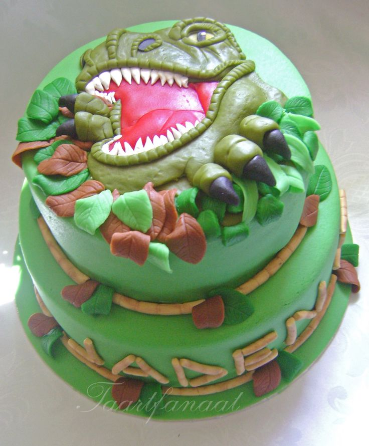 71 Best Images About Dinosaur Cakes On Pinterest
