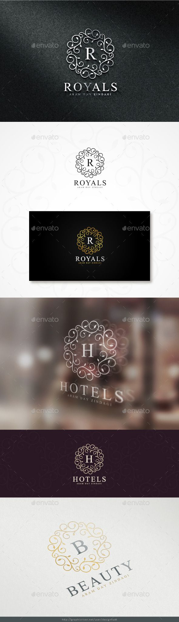Royals Logo — Photoshop PSD #majestic #luxury logo • Download here → https://graphicriver.net/item/royals-logo/11353795?ref=pxcr