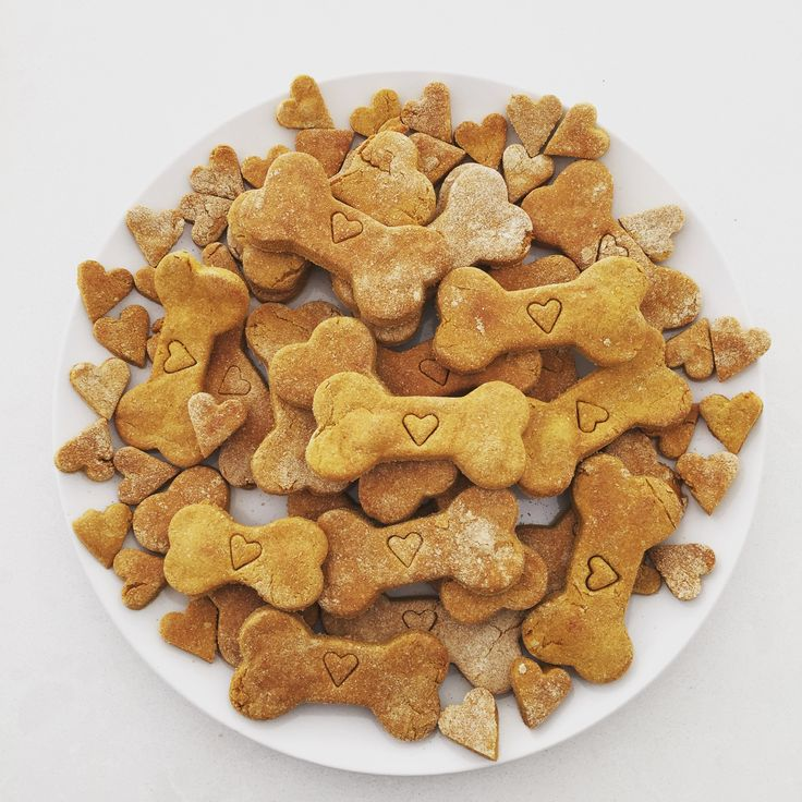 Pumpkin and peanut butter biscuits, get the recipe from our website  www.heeleyshounds.com.au