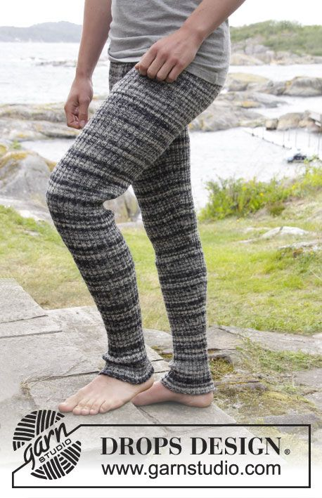 This is different! But definately usable for the active guys: #knit tights with rib by DROPS Design