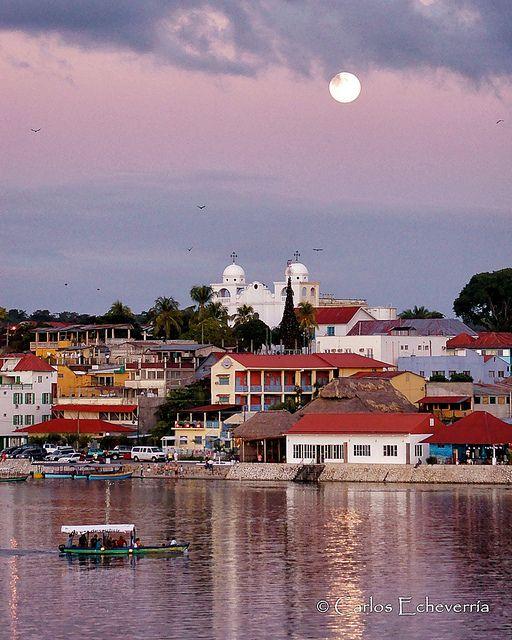 Isla de Flores, Peten Guatemala  by Carlos Ismael Echeverría Alegría, via Flickr