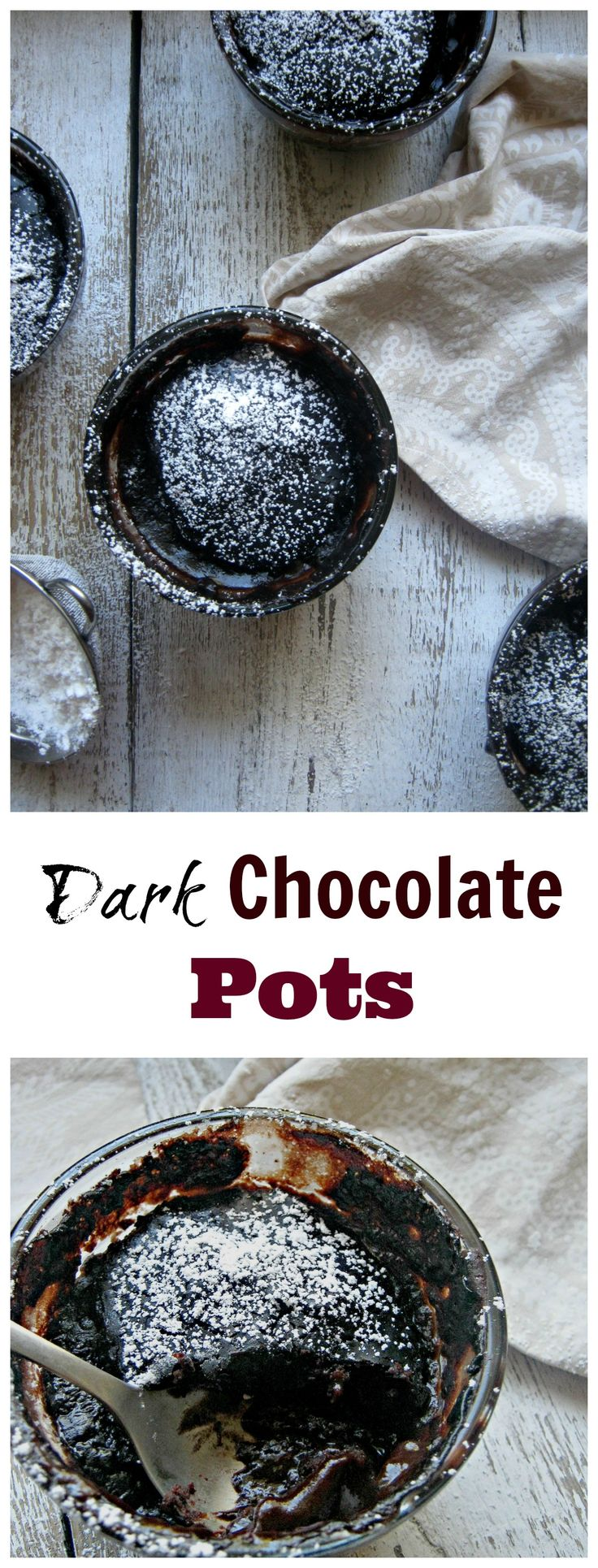Dark Chocolate Pots http://www.juliascuisine.com/home/dark-chocolate-pots