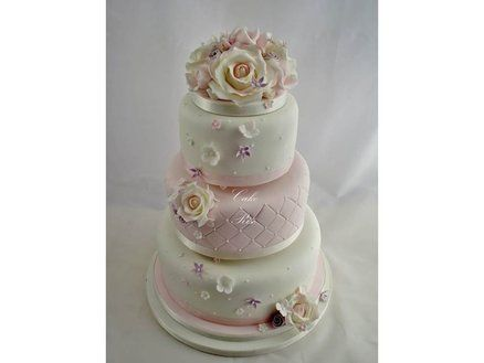 1000+ images about Wedding Cakes-Pink on Pinterest | Vintage wedding cakes, Cakes and Wedding cakes