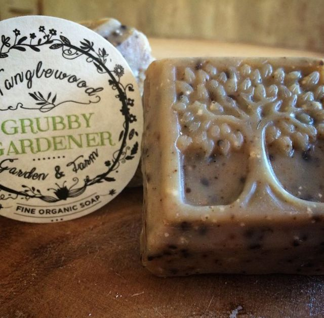 Tanglewood Organic Soap - Grubby Gardener - $3.50