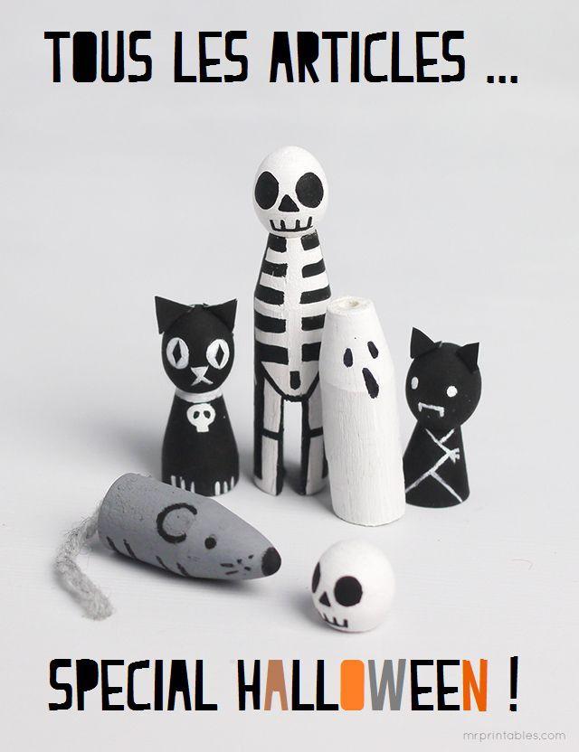 {Free printable} Un jeu de l'oie Halloween! |