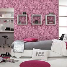 Rasch Savanna Cheetah Pink 202922 Alternative Image Leopard Bedroomzebra Print
