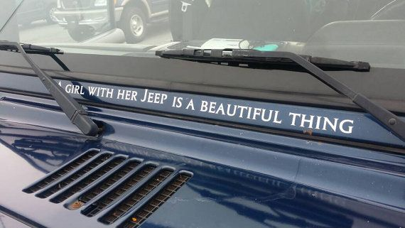Check out this item in my Etsy shop https://www.etsy.com/listing/260306524/jeep-decal-a-girl-with-her-jeep-is-a