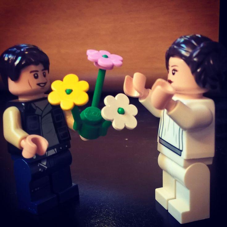 Lego in love Han & Leila #Legostarwars