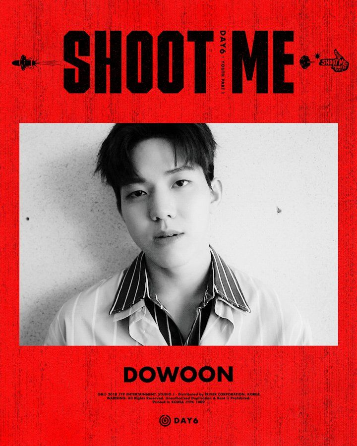 Motion Poster #DAY6 #데이식스 #DOWOON #ShootMe #YouthPart1