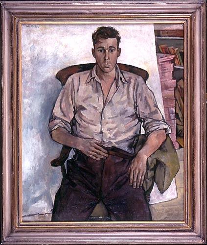"""John Minton 1956 """"Portrait of Bill"""""""