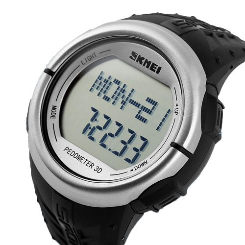 NEW! Fitness Heart Rate Monitor And Pedometer Watch For Men Women Sport Watches Digital Electronic Wristwatches Calories Counter