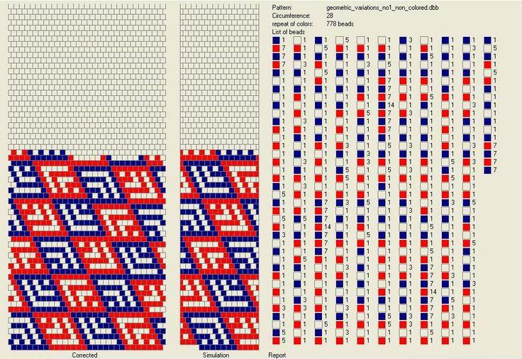 Free Crochet Bead Pattern 28 round