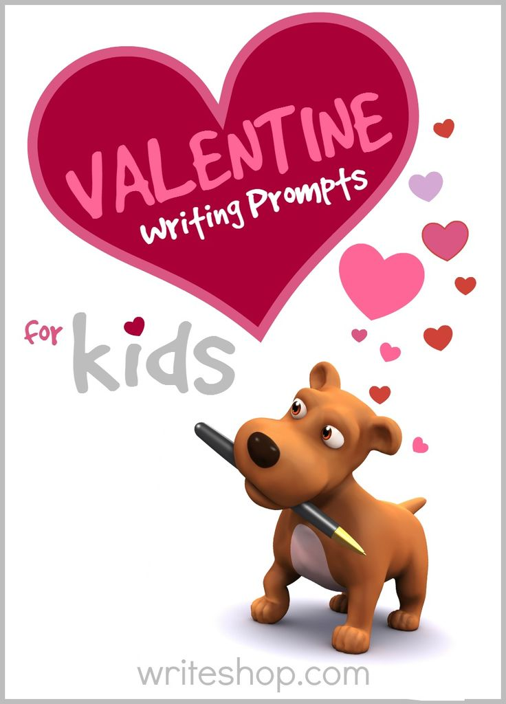 Valentine's Day writing prompts for kids