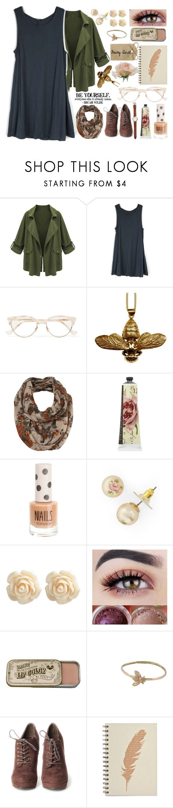 """""""C"""" by ohgoditsyou-k ❤ liked on Polyvore featuring Cutler and Gross, Justine Brooks, TokyoMilk, Topshop, Wet Seal and Peggy Li"""
