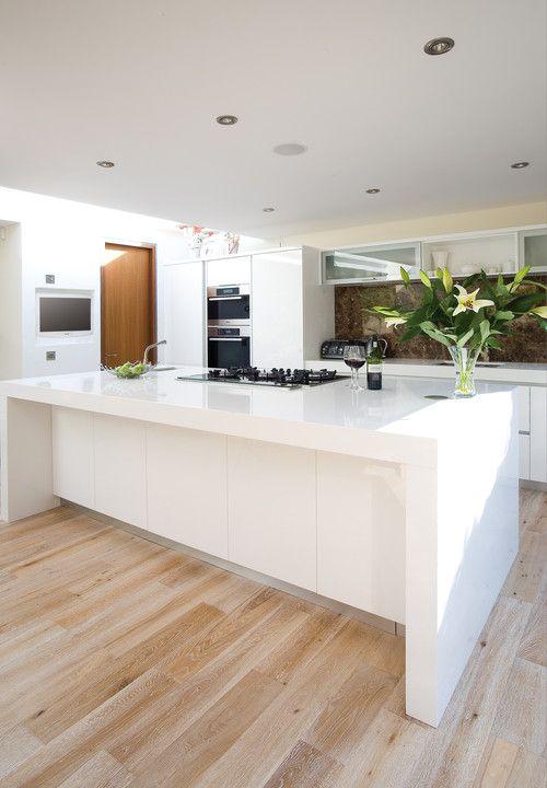 White Kitchen Island, Good Choice but Need Serious Maintenance:Great White Kitchen Island On Laminate–high Price White Kitchen Islands