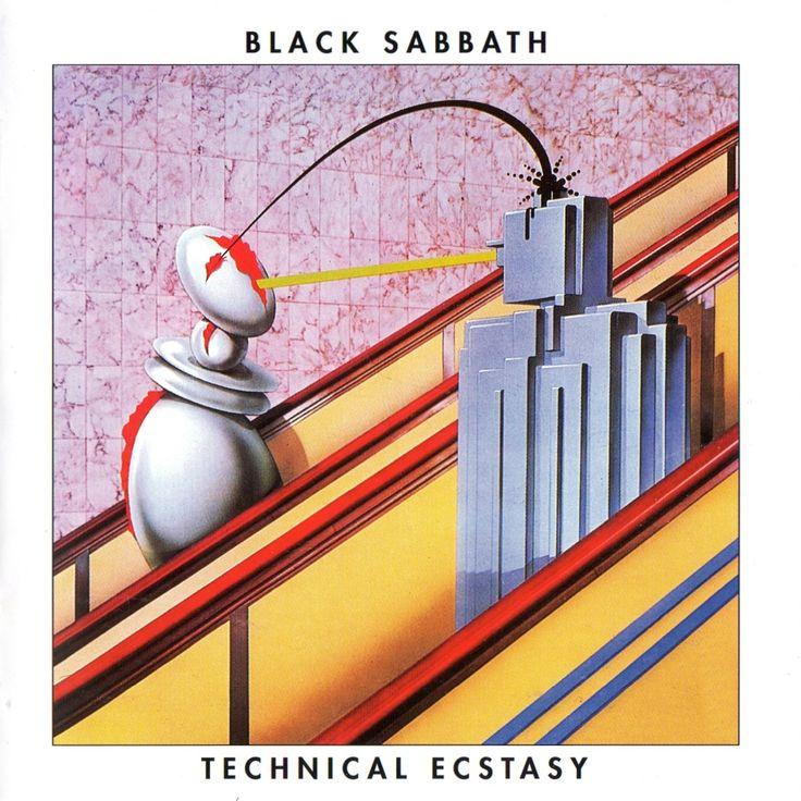 Black Sabbath - Technical Ecstasy LP Record Album On Vinyl