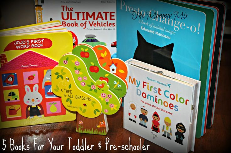 The Mommy Mix: 5 Books For Your Toddler & Pre-Schooler {Raincoast...