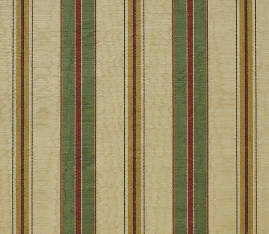 Marvic Textiles - Misa Moire Stripe Ivory/Jungle