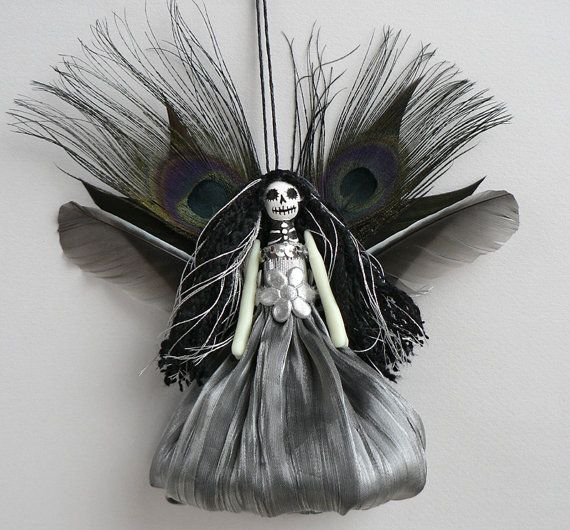 Custom Made Christmas Ornament - made to order, one of a kind, personalized Christmas fairy (the photos show examples)