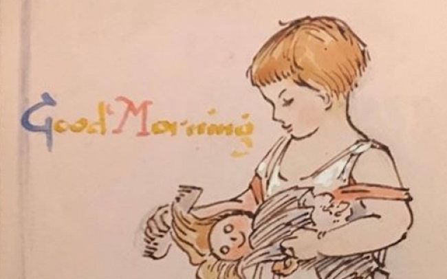 Found: A Schoolgirl's Autograph Book From the 1930s