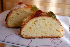 Receta de Roscón de Reyes esponjoso