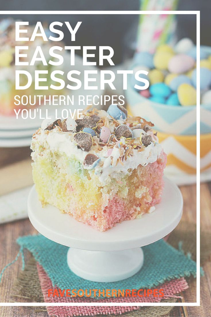 53 best images about recipes for easter on pinterest for Easy dessert recipes for easter