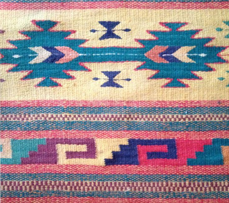 Hand woven wool rugs at rancholascascadas.com