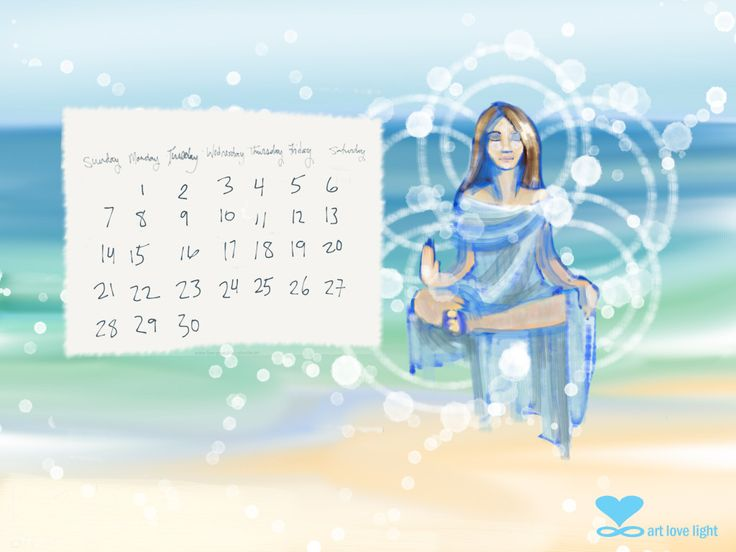 April Desktop Calendar 2013