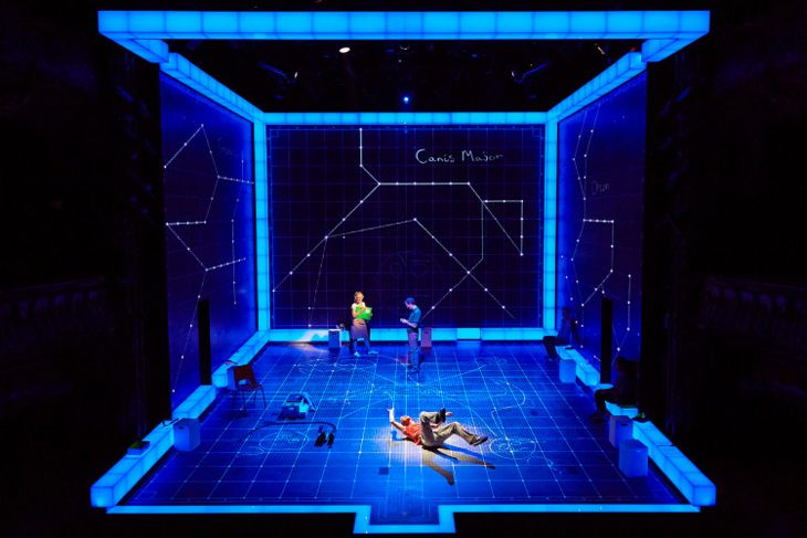 The Curious Incident of the Dog in the Night-Time. Apollo Theatre, London. Set design by Bunny Christie.