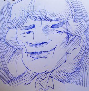 KARIKATOURA: Quick caricature practice!!
