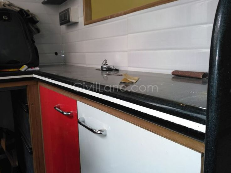 Sandwich Black Granite Platform Fascia Patti Building