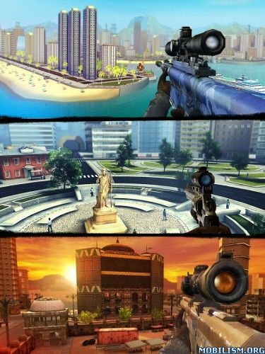 Sniper 3D Assassin Gun Shooter v1.16.1 (Mod)Requirements: 2.3 +Overview: ★★★★★ the BEST sniper game for Android  FIGHT the global war on crime and become the ULTIMATE SHOOTER AIM and SHOOT! get yourself a gun and KILL THEM...