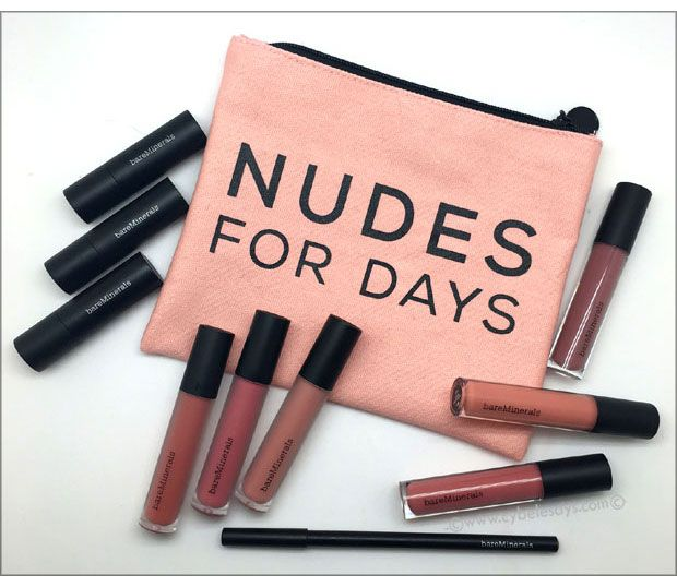 .#NudeItUp With the New Collection from @bareMinerals #makeup