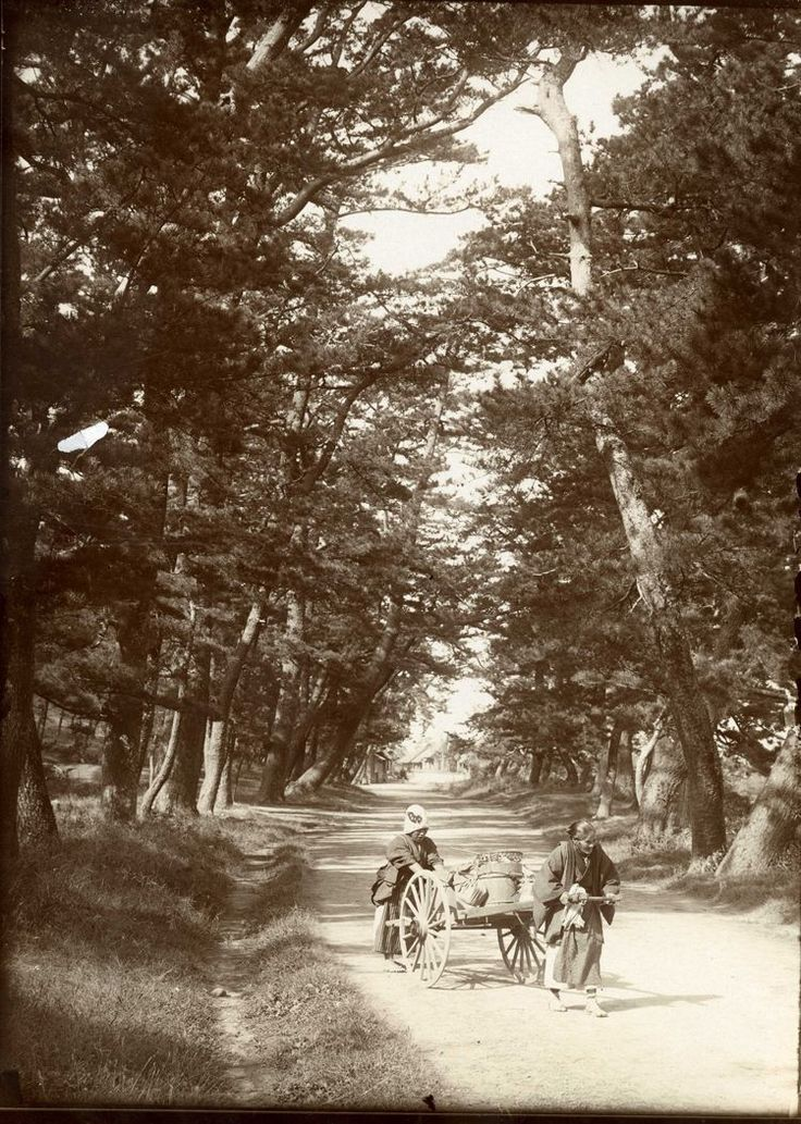 On the Tokaido - The Old Post Road of Japan by Herbert Ponting
