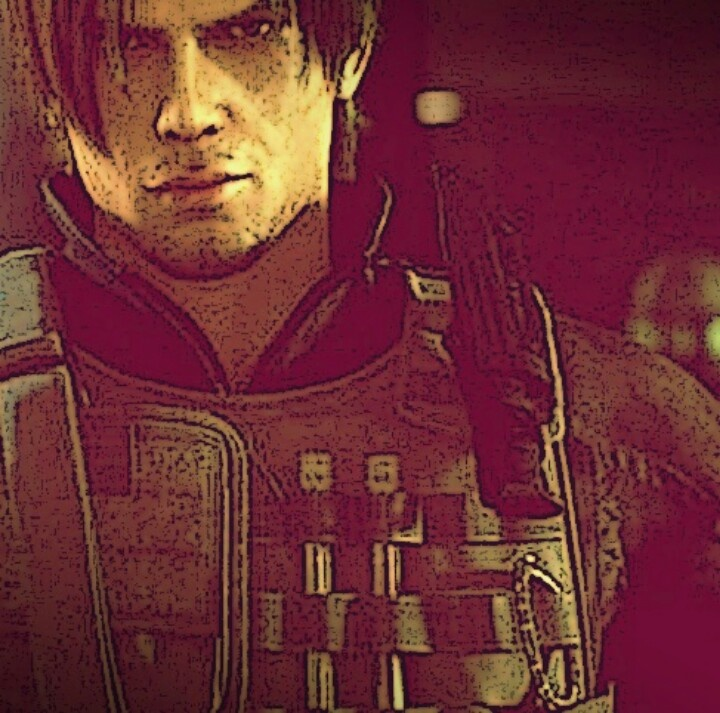 Must admit. One of the best look by Leon Scott Kennedy.