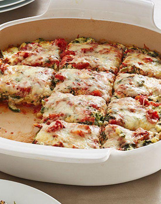 Fresh Vegetable Lasagna Bake 6 WW Smart Points 12 servings