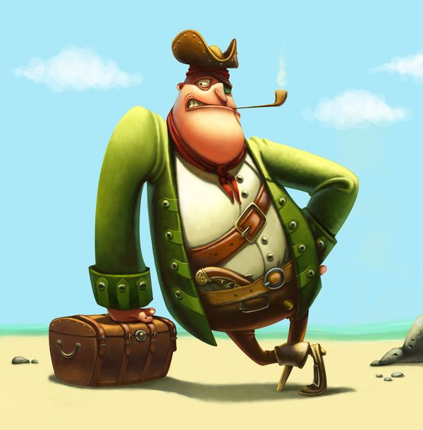 Pirate Character #3D #character